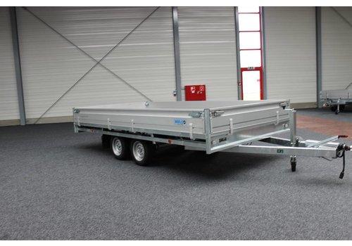 Hulco Aanhangwagens Hulco Medax-2 plateauwagen 335x183cm ( 2630kg )