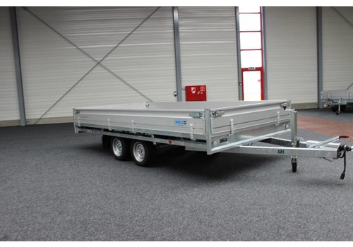 Hulco Aanhangwagens Hulco Medax-2 plateauwagen 405x183cm ( 3000kg )