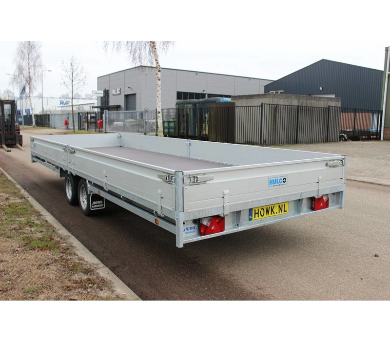 Hulco Medax-2 plateauwagen 611x203cm ( 3500kg )