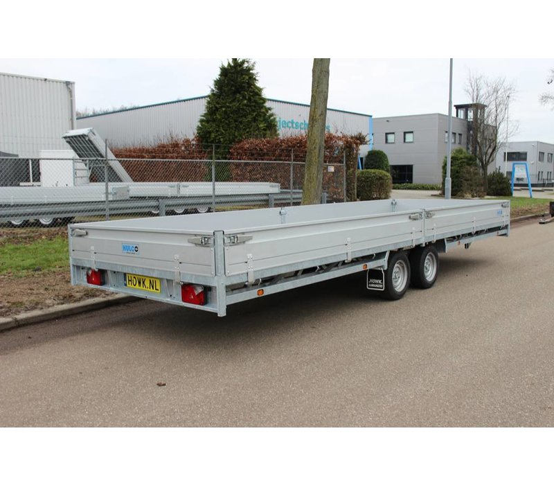 Hulco Medax-2 plateauwagen 611x203cm ( 3000kg )