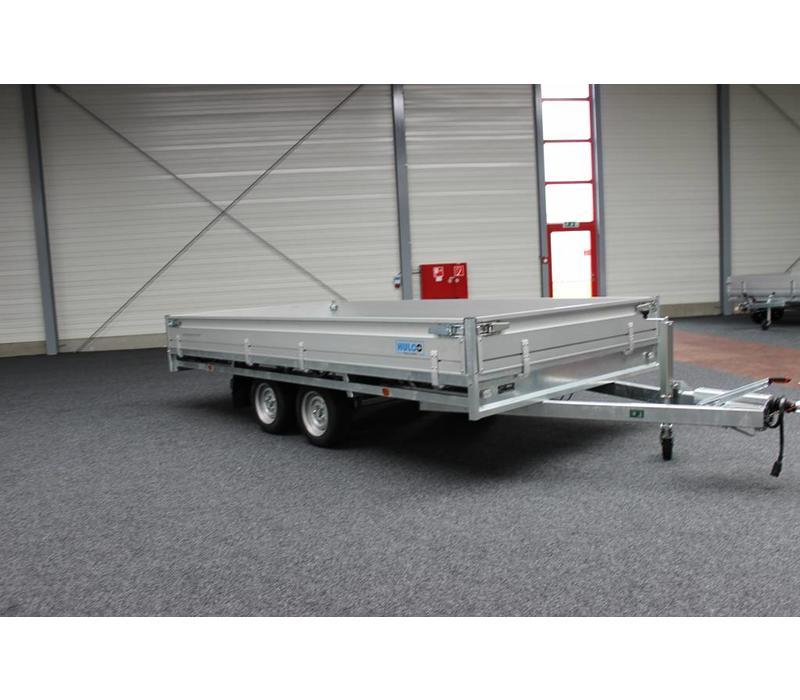 Hulco Medax-2 plateauwagen 405x201cm ( 2600kg )