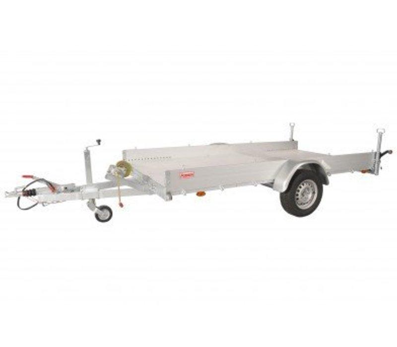 Anssems AMT1200  340x170cm ( 1200kg ) enkelasser geremd
