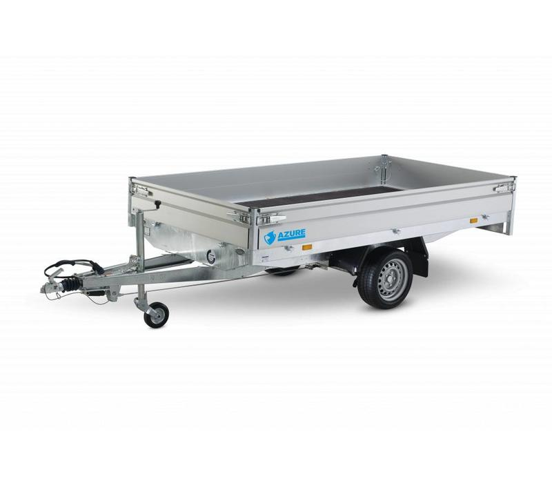 Nieuwe Haper Azure H-1 260x150cm  enkelasser  750-1800kg