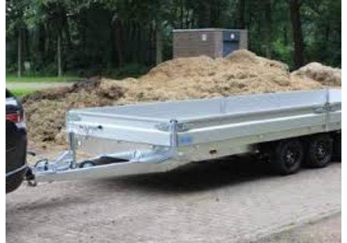 Hapert Aanhangwagens Nieuwe Hapert Azure 505x220cm ( 3500kg ) Tridem + parabool