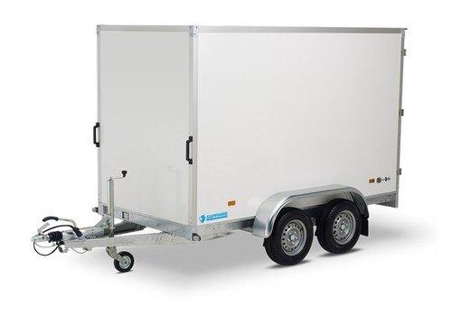 Hapert Aanhangwagens Actie model Nieuwe gesloten Hapert Saphire L2 300x150x180cm (2000kg)