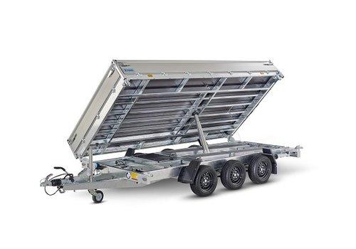 Hapert Aanhangwagens Hapert Cobalt HM-3 3-zijdige kipper 405x200cm (3500kg)