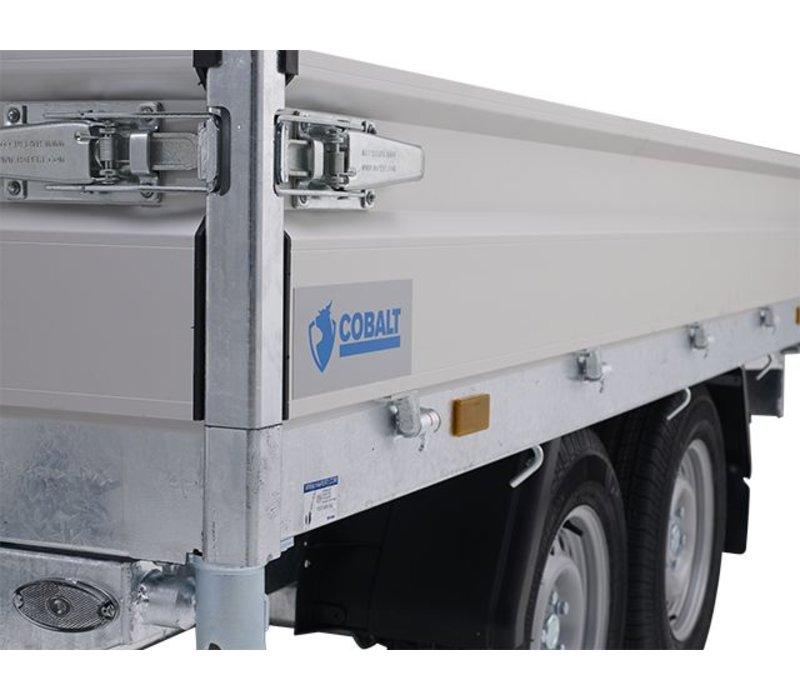 Hapert Cobalt HB-2 1-zijdige kipper 305x160cm (2000-2700kg)