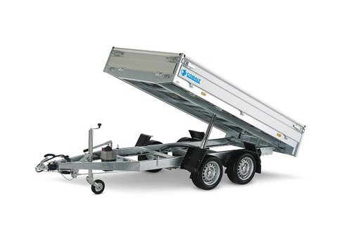 Hapert Aanhangwagens Hapert Cobalt HB-2 1-zijdige kipper 305x160cm (2000-2700kg)