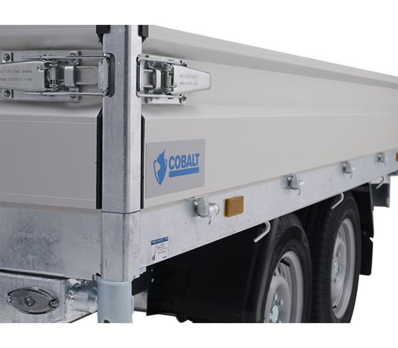 Hapert Cobalt HB-1 1-zijdige kipper 260x150cm (1350-1800kg)
