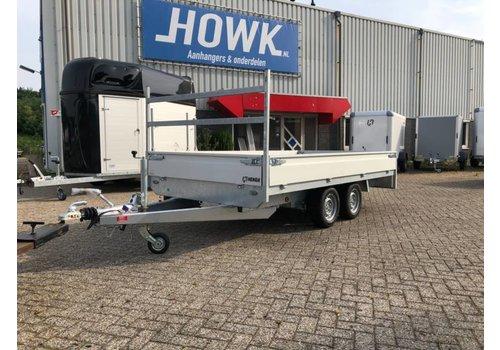 Henra Nieuwe Henra plateauwagen verlaagd 351x185cm 2700-3500kg