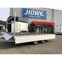Nieuwe Henra plateauwagen verlaagd 351x185cm 2700-3500kg