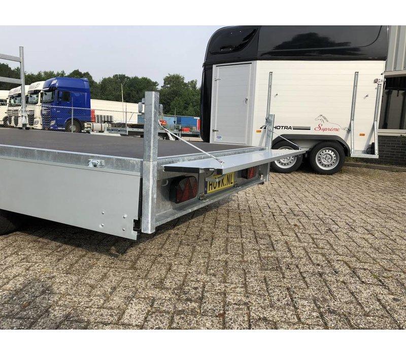 Nieuwe Henra plateauwagen verlaagd 401x185cm 2700-3500kg