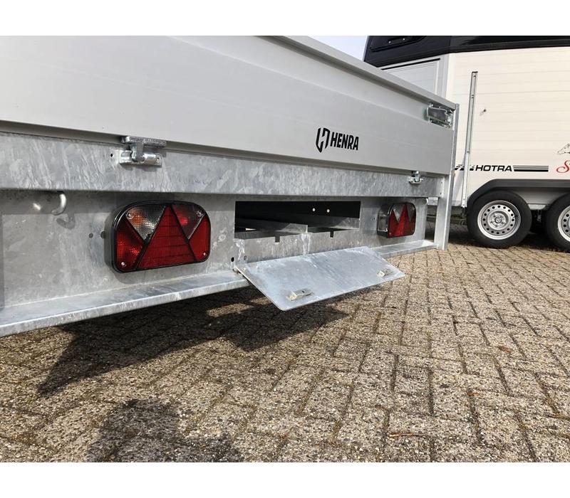 Nieuwe Henra plateauwagen verlaagd 503x202cm 2700-3500kg