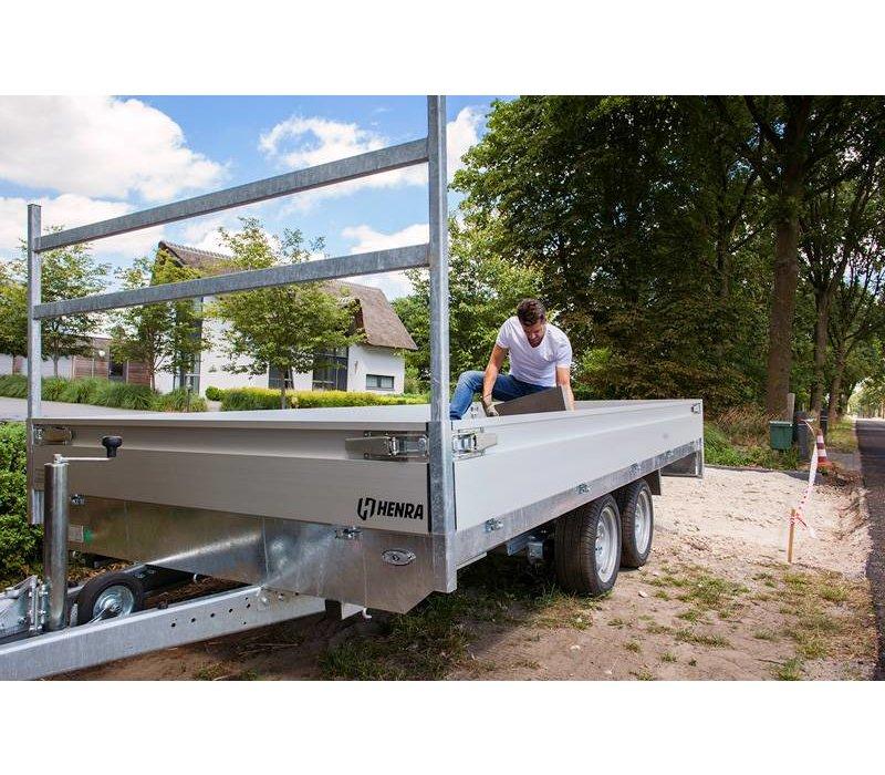 Henra 3 zijdige kieper 331x185cm 2700kg-3500kg