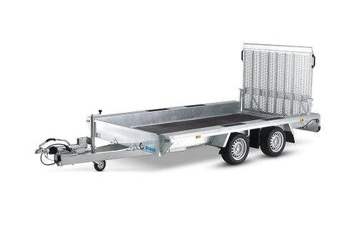 Hapert Aanhangwagens Hapert Indigo LF-2 machine transporter 410x184cm 3000kg