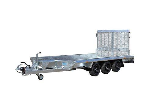 Hapert Aanhangwagens Hapert Indigo LF-3 machine transporter 410x184cm 3500kg