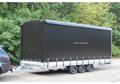Hapert Aanhangwagens Hapert Azure met huif 605x202x200cm 3500kg