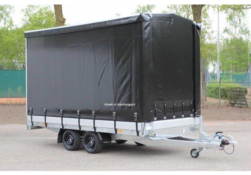 Hapert Aanhangwagens Hapert Azure met huif 405x202x210cm ( 3500kg )