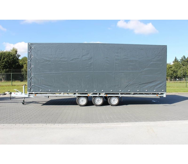 Hulco Medax met huif 611x203x210cm 3500kg Tridem