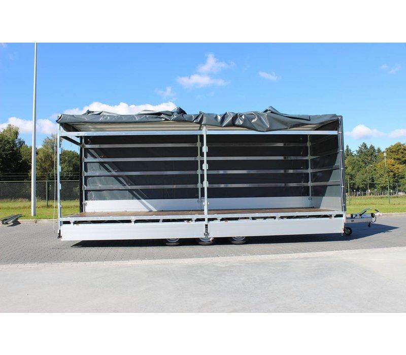 Hulco Medax met huif 502x203x210cm 3000kg