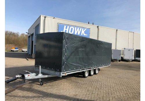 Hulco Aanhangwagens Hulco Medax met huif 611x203x180cm 3500kg Tridem