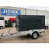 Anssems aanhangwagens Anssems BSX1350 250x130x150cm ( 1350kg ) met huif