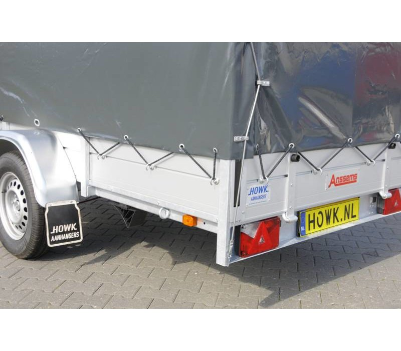 Anssems BSX1350 250x130x150cm ( 1350kg ) met huif