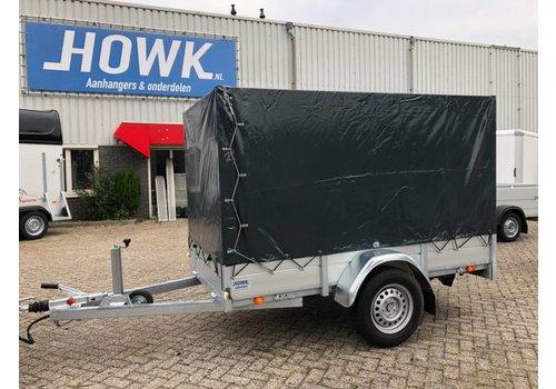 Anssems aanhangwagens Anssems BSX1500 301x150x150cm ( 1500kg ) met huif