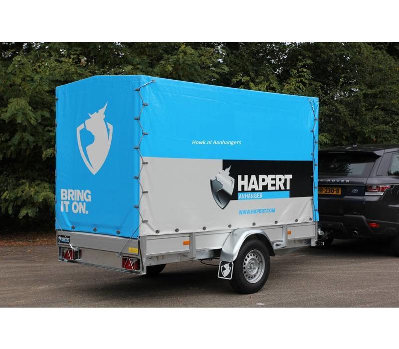Nieuwe Hapert Azure L-1 met huif 250x130x150cm (750kg-1800kg)