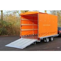 Hapert Indigo LF-2 machine transporter met huif 410x184cm 3000kg