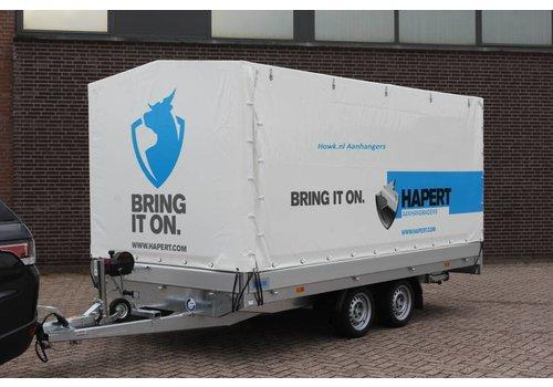 Hapert Aanhangwagens Nieuwe Hapert Azure met huif 335x180x180cm ( 2000 - 3500kg )