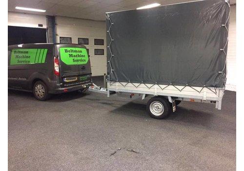 Anssems aanhangwagens Nieuwe Anssems PSX met huif 251x153x180cmcm (1350kg )