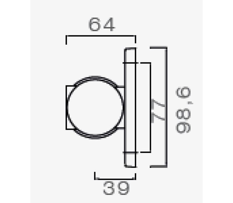 ASPÖCK Superpoint III LED, contourlamp