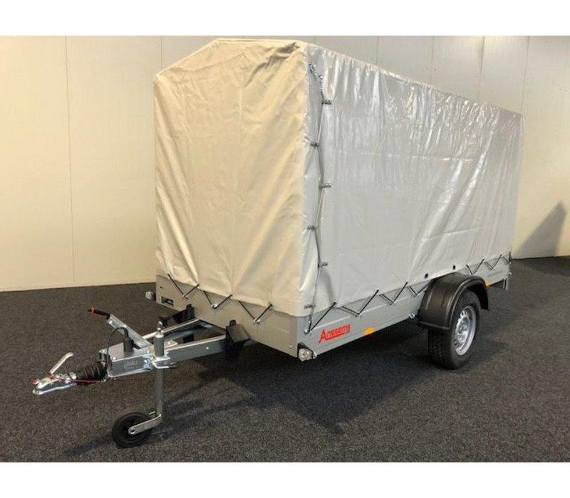 Enkelas bakwagen met huif huren? ( 750kg - 1500kg )