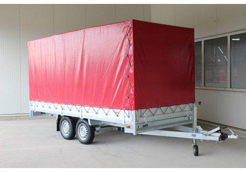 Aanhanger huren Plateauwagen met huif huren? ( 2000kg - 3500kg )