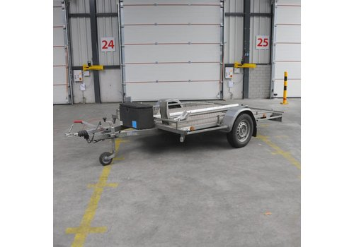 Aanhanger huren Motor aanhanger voor 2 motoren (max 750kg)