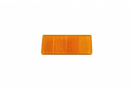 Aspöck ASPÖCK Reflector oranje, 69 x 31,5 mm met kleeffolie