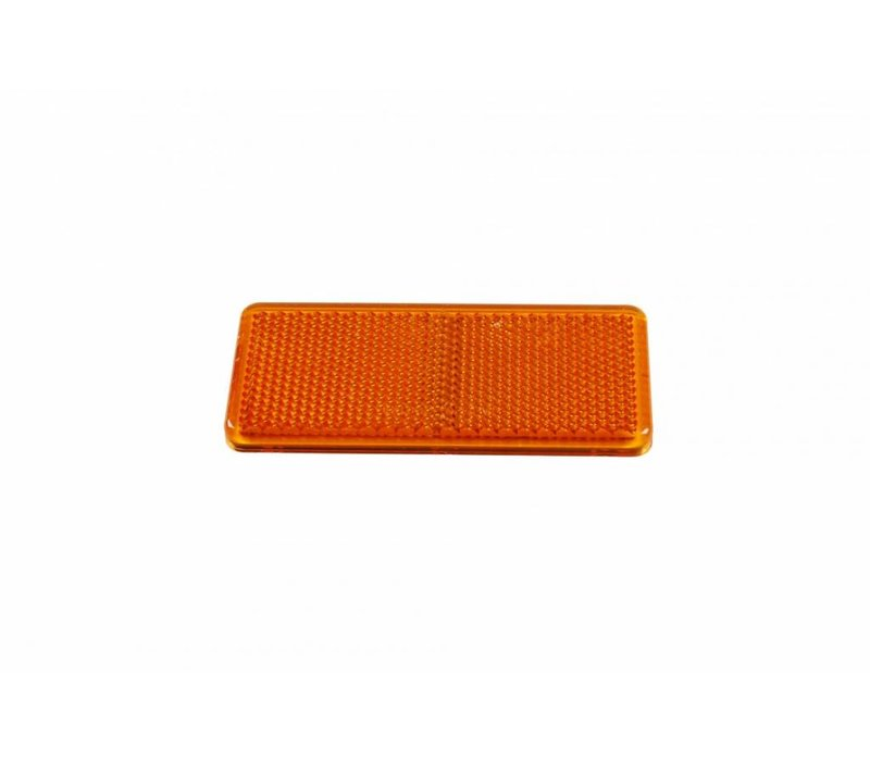 ASPÖCK Reflector oranje, 90 x 40 mm
