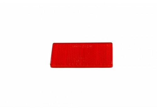 Aspöck ASPÖCK Reflector rood, 69 x 31,5 mm met kleeffolie