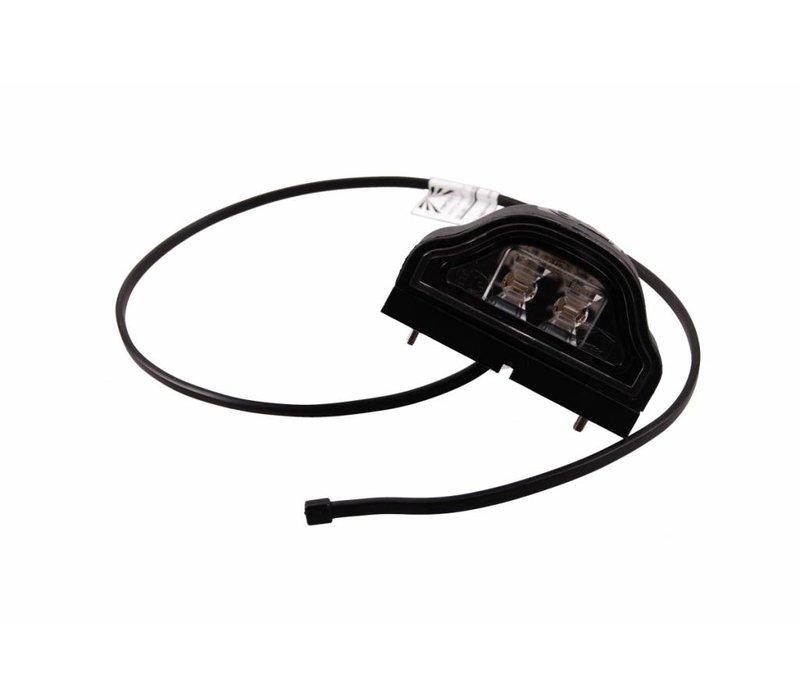 ASPÖCK Regpoint LED, kentekenverlichting 800mm DC-kabel