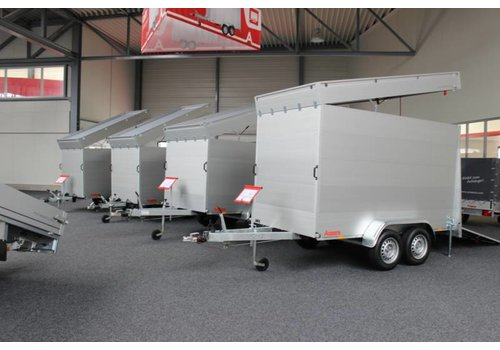 Anssems aanhangwagens Anssems GTB Gesloten aanhanger 251x126x153cm (1200kg)