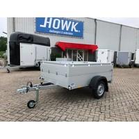 Anssems Bagagewagen 201x101x48cm (750kg) ongeremd