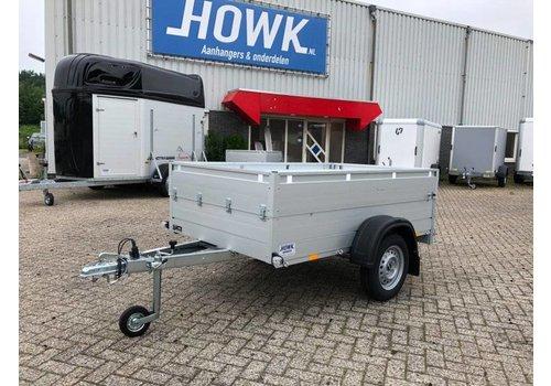 Anssems aanhangwagens Anssems Bagagewagen 251x126x48cm (1200kg) geremd