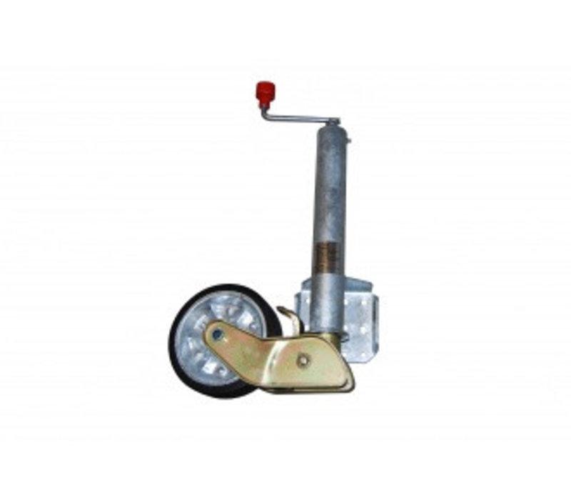 AL-KO Steunwiel, Ø 60 mm, 200x50 mm massief rubberen wiel 500kg