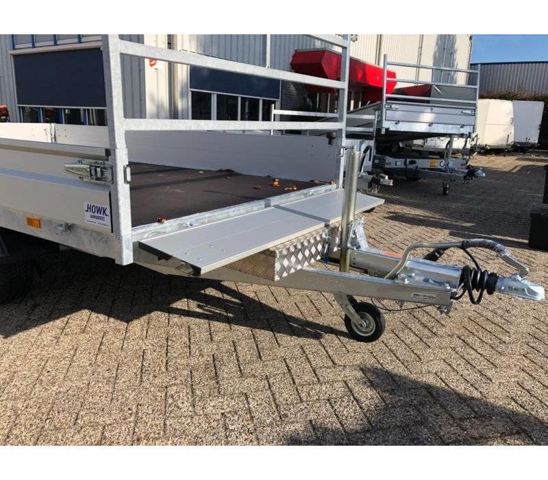 Aluminium disselbak type HA 900x380x150mm