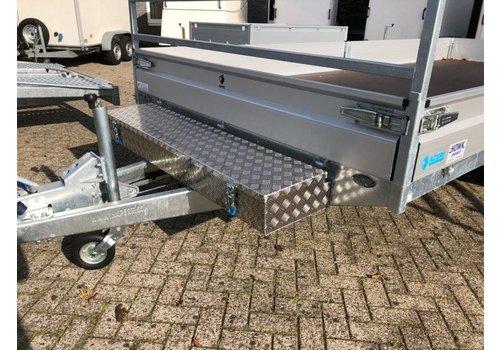 Aluminium disselbak type HL 1600x380x190mm
