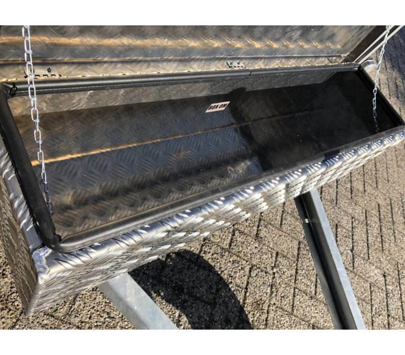 Aluminium disselbak type OM 900x250x250mm