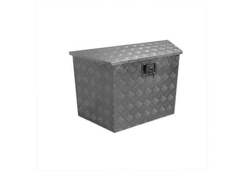 Aluminium disselbak schuin 540x360xH490mm