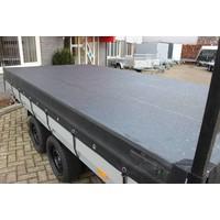 Aanhangernet fijnmazig 330x210cm zwart