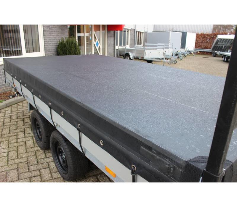 Aanhangernet fijnmazig 350x250cm zwart